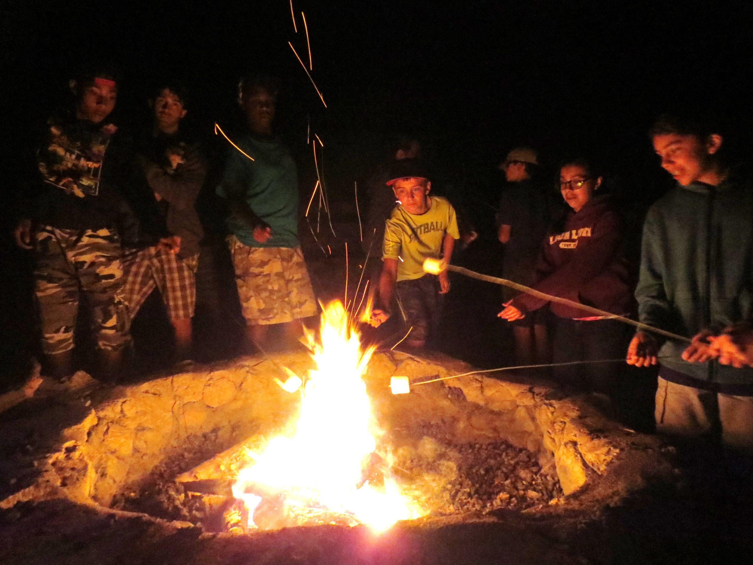 Chi Rho Campfire